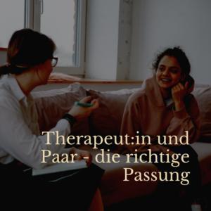 therapeutin-paar-passung